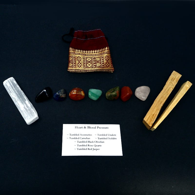 Crystal Kit ~ Heart & Blood Pressure All Specialty Items