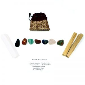 Crystal Kit ~ Heart & Blood Pressure All Specialty Items black obsidian