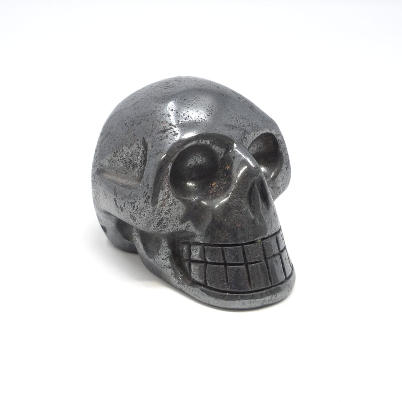 Hematite Skull All Polished Crystals hematite