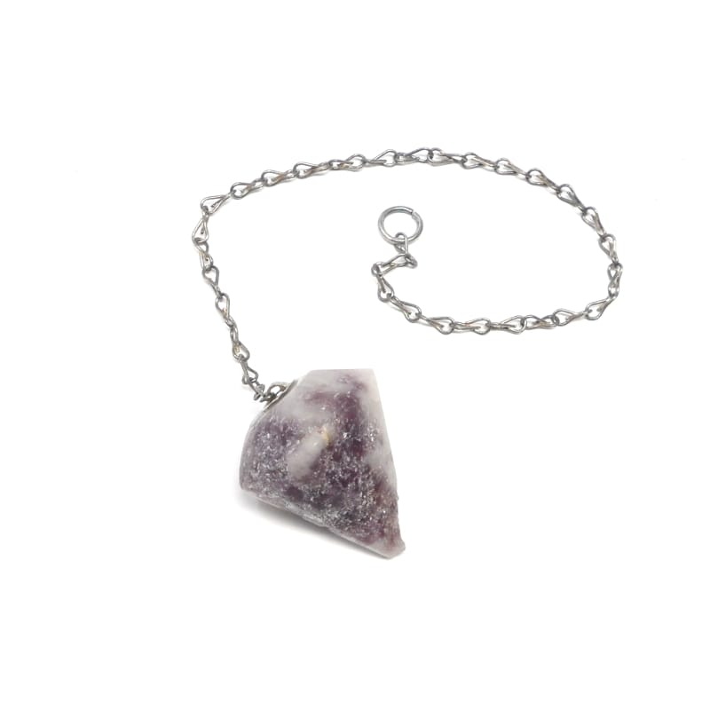 Lepidolite Pendulum All Specialty Items lepidolite