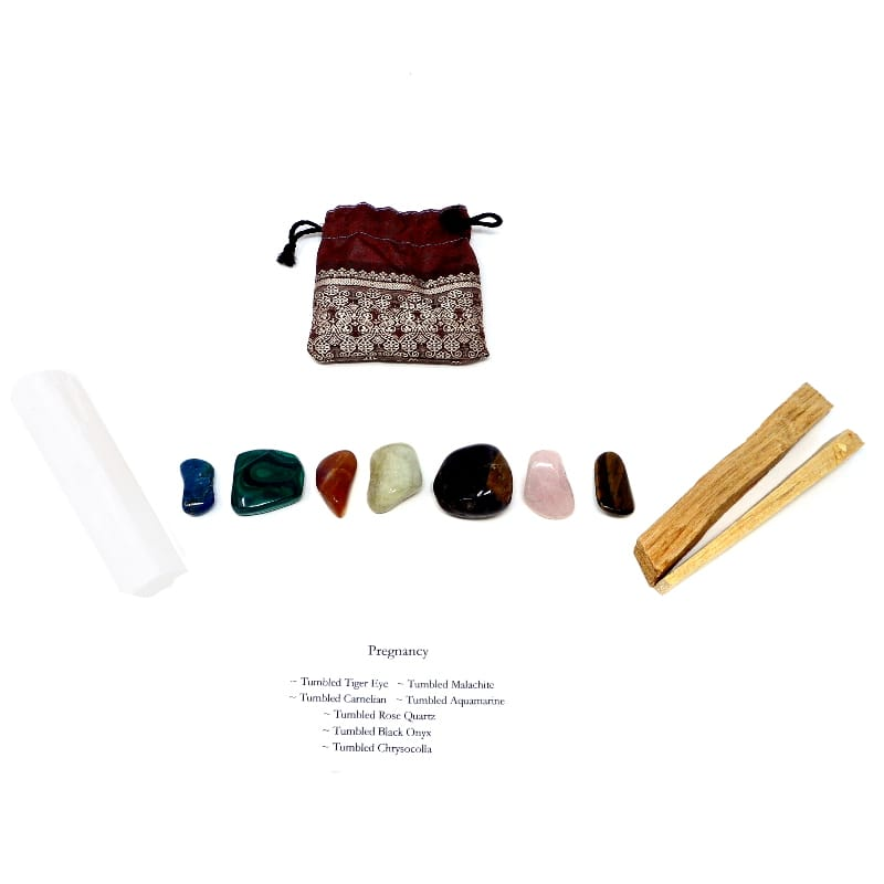 Crystal Kit ~ Pregnancy All Specialty Items aquamarine
