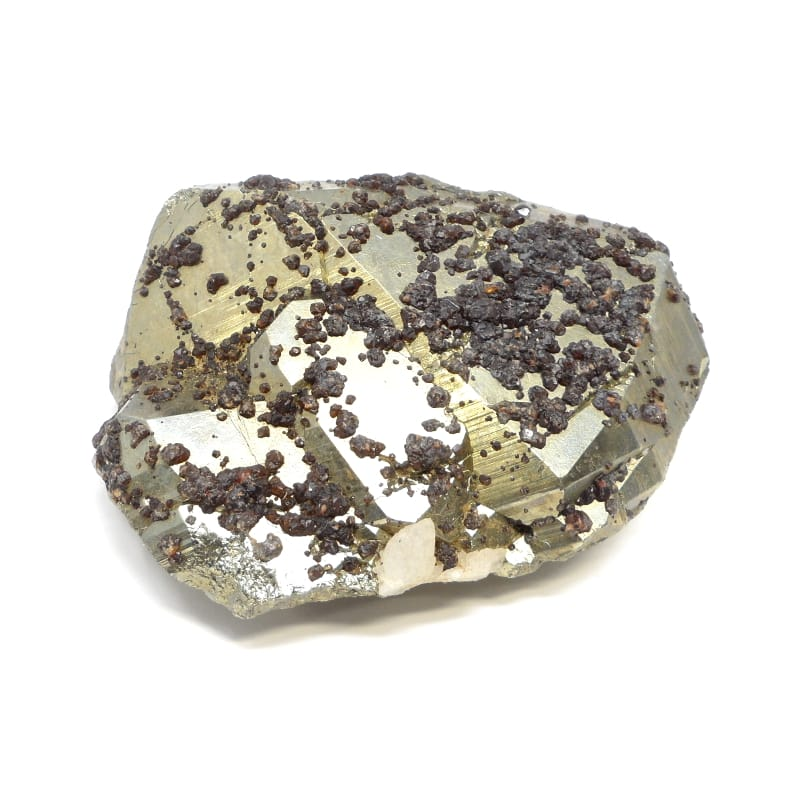 Pyrite and Garnet All Raw Crystals