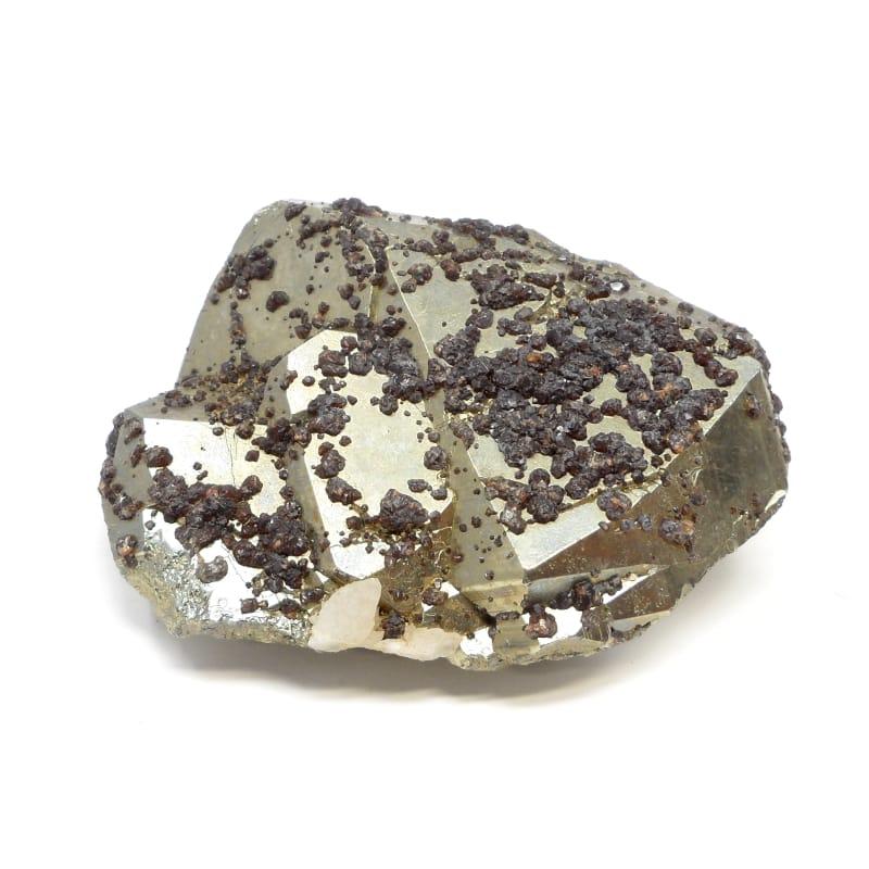 Pyrite and Garnet
