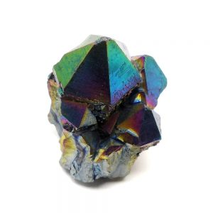 Rainbow Aura Quartz Cluster All Specialty Items arkansas quartz