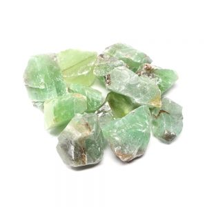Apple Green Calcite lg 16oz All Raw Crystals apple green