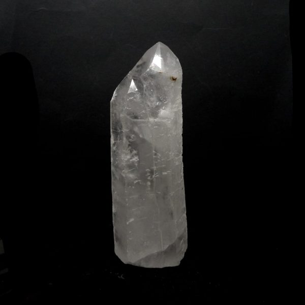 Quartz Point with Cut Base All Raw Crystals clear quartz