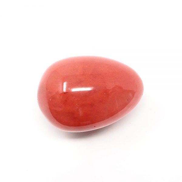 Cherry Quartz Egg All Polished Crystals cherry quartz