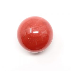 Quartz, Cherry Sphere 40mm All Polished Crystals 40mm sphere