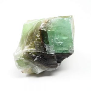 Green Calcite Raw Crystals calcite
