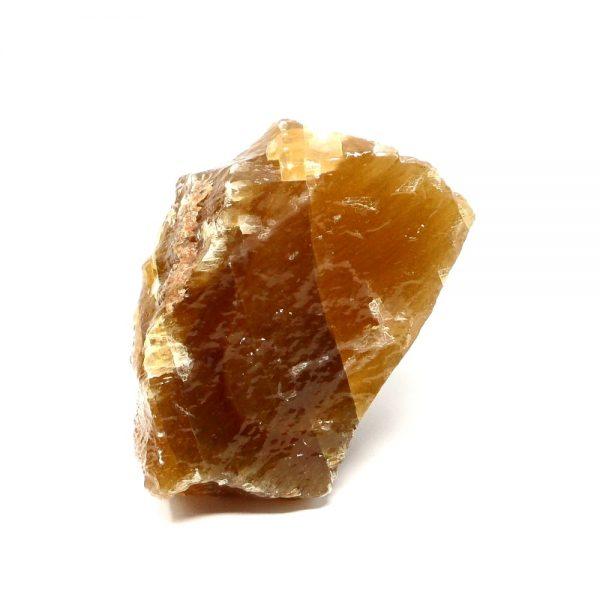 Honey Calcite Sculpture All Raw Crystals calcite