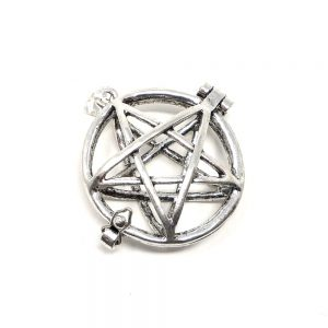 Metal Pentagram Pendant, Openable All Jewellery