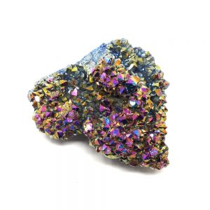Rainbow Aura Quartz Cluster All Specialty Items