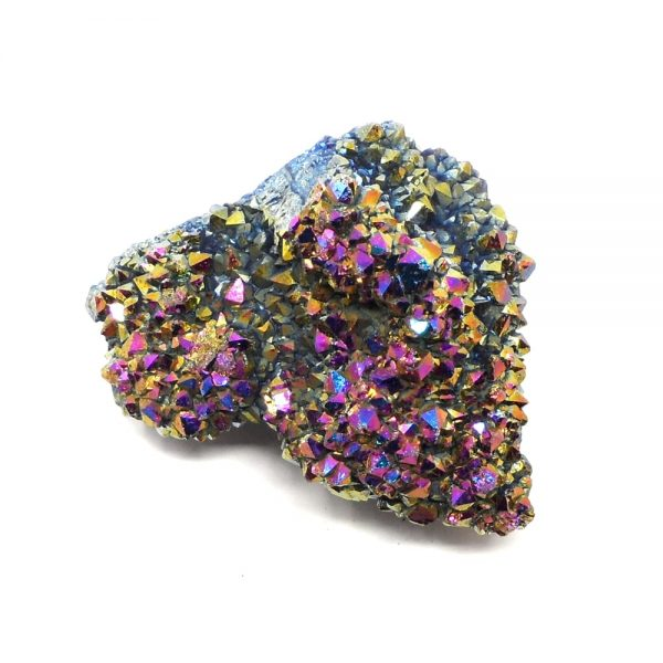Rainbow Aura Quartz Cluster All Specialty Items
