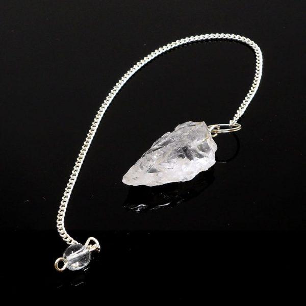 Raw Clear Quartz Pendulum All Specialty Items clear quartz