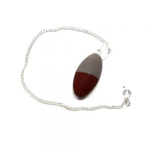 Shiva Lingam Pendulum All Raw Crystals