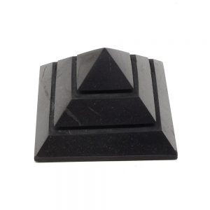 Shungite Engraved Pyramid All Polished Crystals