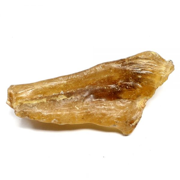 Amber Wand All Raw Crystals amber
