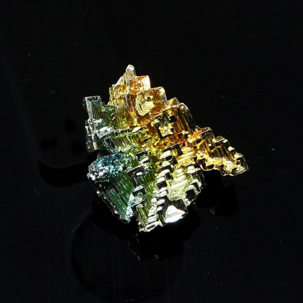 Bismuth, sm, lab grown All Raw Crystals bismuth