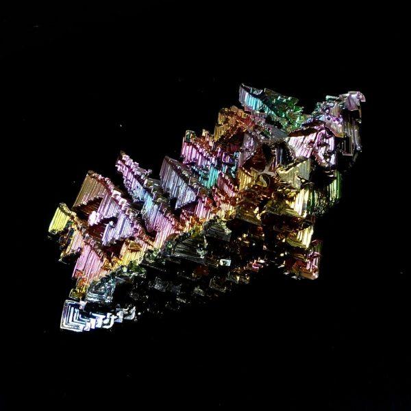 Bismuth, lg, lab grown All Raw Crystals bismuth