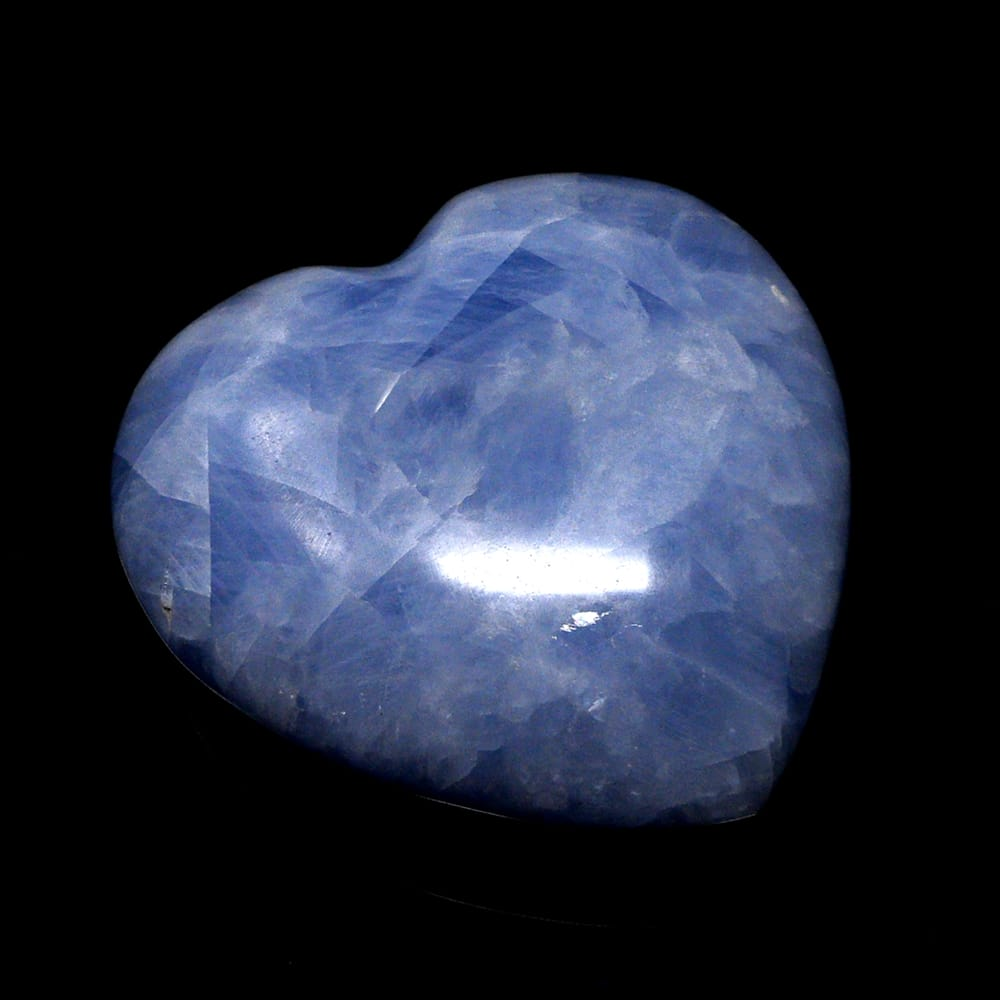 Tumbled Blue Calcite