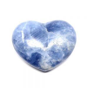 Blue Calcite Heart New arrivals blue calcite
