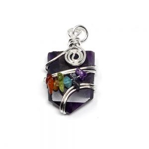 Amethyst Chakra Pendant All Crystal Jewelry amethyst
