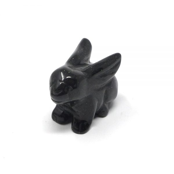 Green Goldstone Rabbit All Specialty Items crystal rabbit