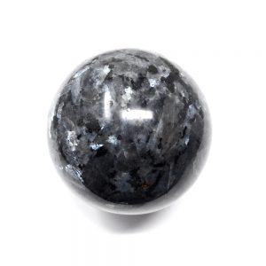 Larvikite Sphere All Polished Crystals blue labradorite