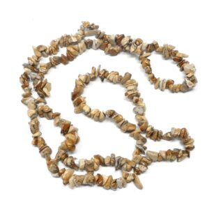 Picture Jasper Chip Strand All Crystal Jewelry crystal chips