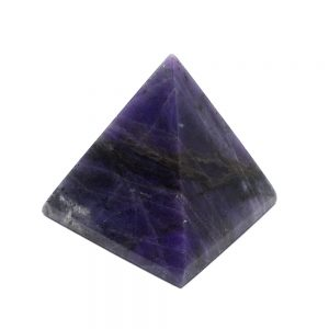 Purple Opaline Pyramid All Polished Crystals crystal pyramid