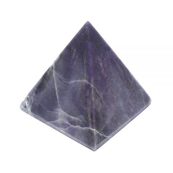 Purple Opaline Pyramid All Polished Crystals crystal pyramid