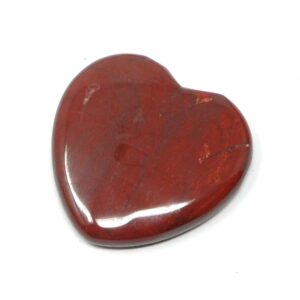 Red Jasper Flat Heart 45mm All Polished Crystals crystal heart