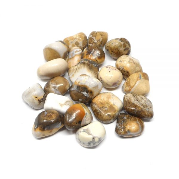 King Cobra Jasper Tumbled 8oz All Tumbled Stones bulk crystals
