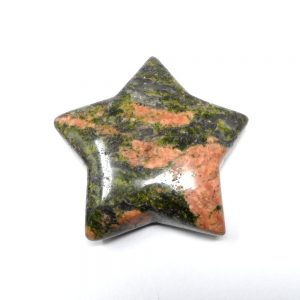 Unakite Star All Specialty Items crystal star