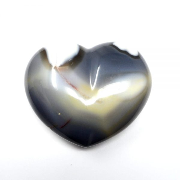 Agate Heart All Polished Crystals agate