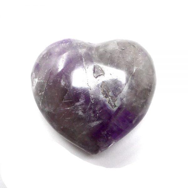 Amethyst Heart All Polished Crystals amethyst