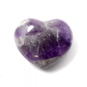 Amethyst Heart All Polished Crystals amethyst