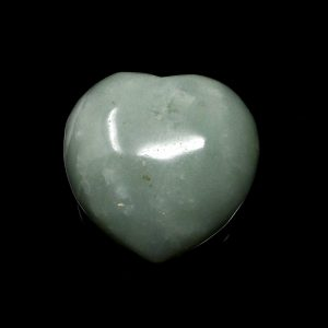 Aventurine, Green Puffy Heart All Polished Crystals aventurine