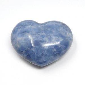 Blue Calcite Heart All Polished Crystals blue calcite