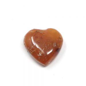 Carnelian Heart All Polished Crystals carnelian