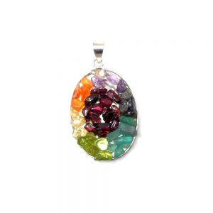 Chakra Pendant Crystal Jewelry chakra