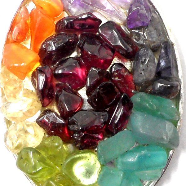 Chakra Pendant All Crystal Jewelry chakra