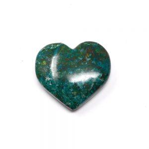 Chrysocolla Crystal Heart Polished Crystals chrysocolla