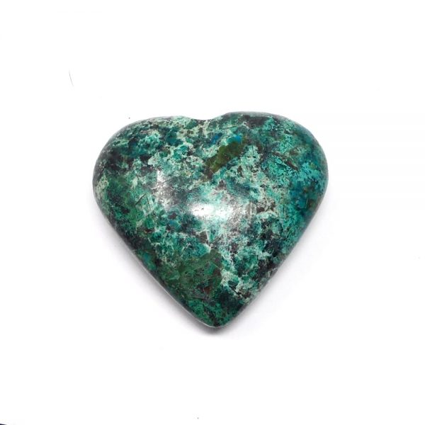 Chrysocolla Crystal Heart All Polished Crystals chrysocolla