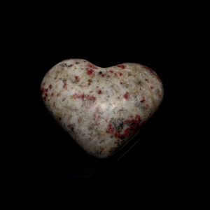 Scapolite and Red Epidote Heart All Polished Crystals epidote