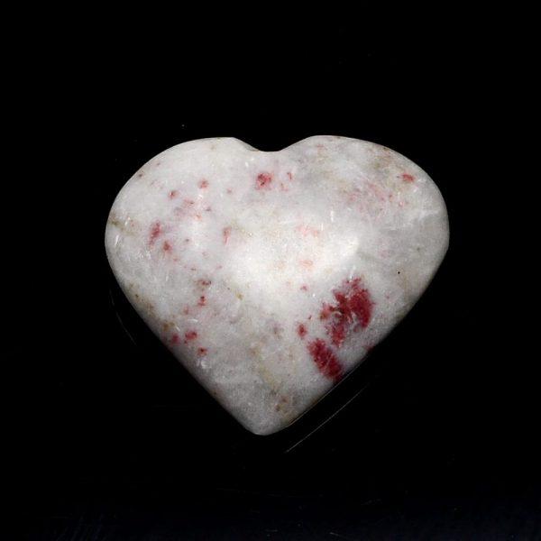 Cinnabrite Heart All Polished Crystals cinnabrite