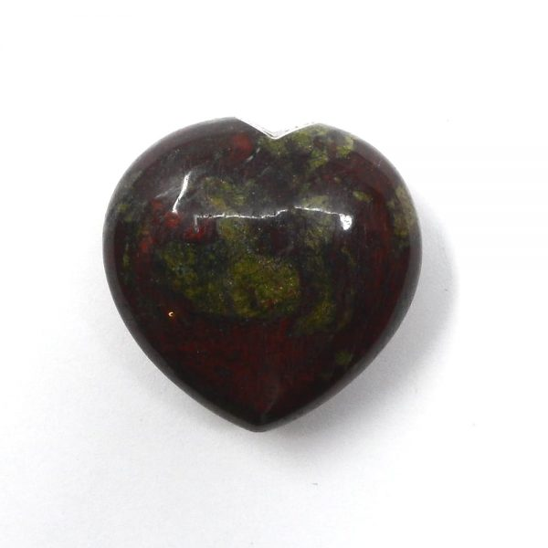 Dragon's Blood Heart All Polished Crystals crystal heart
