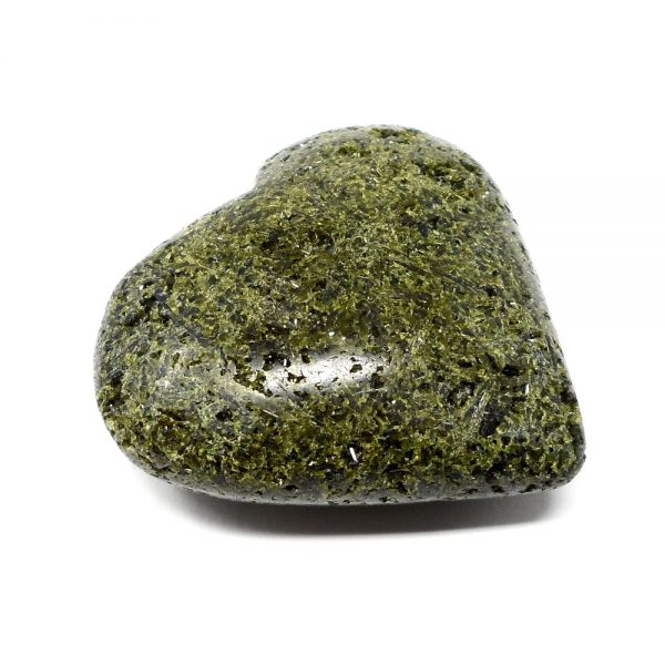 Epidote, Green Heart All Polished Crystals crystal heart
