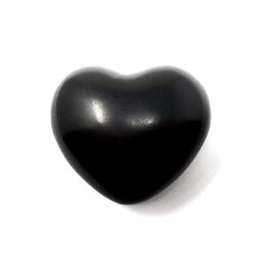 Jet Heart All Polished Crystals crystal heart