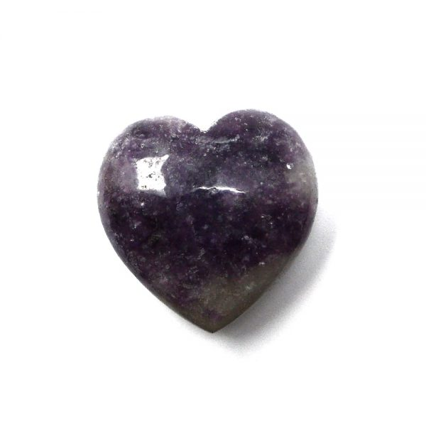Lepidolite Heart All Polished Crystals crystal heart